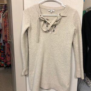 Wool Madewell Sweater Dress, size XS
